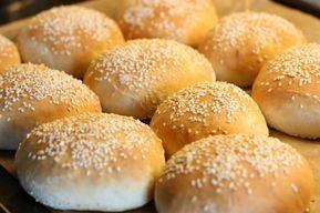 Hamburgerbröd från scratch! | Bakinspiration.se