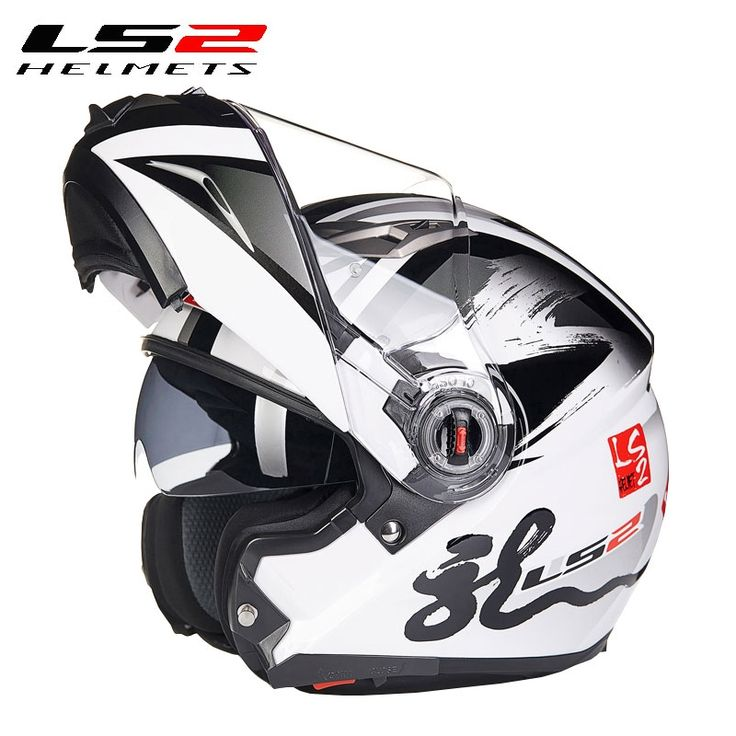 82.99$  Watch here - http://aliblv.worldwells.pw/go.php?t=32732014119 - Authentic Motorcycle Helmets Flip-Up Helmet& Double Lens Moto Modular Capacete CascoLS2 ff370 ,Capacete