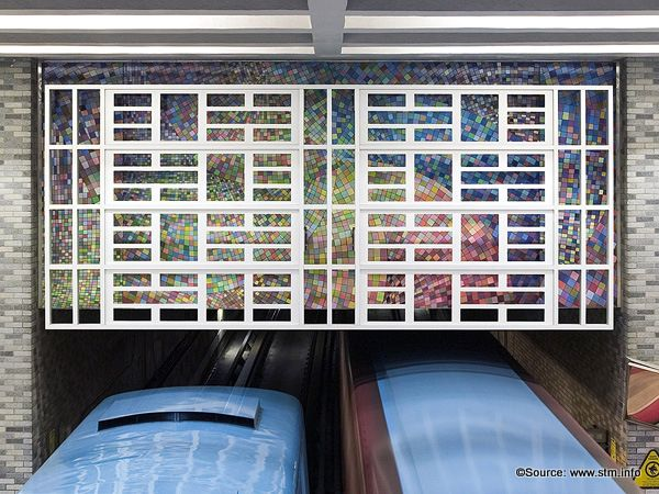 Top 10 Art Installations in Montreal's Metro System | Untapped Cities