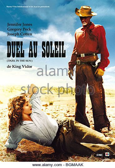 Duel in the Sun Book | Gregory Peck Duel In Sun Stock Photos & Gregory Peck Duel In Sun Stock ...