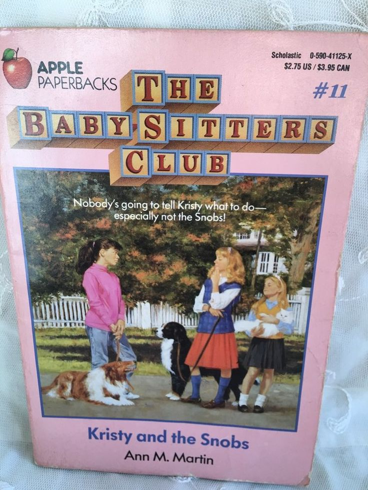 Kristy and the Snobs The Baby-Sitters Club #11 Ann M. Martin Kids Paperback