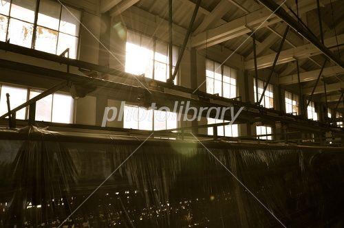 昔の工場 写真素材