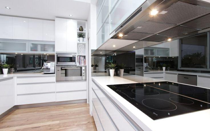 Smoked Mirror Splashback Splashbacks Pinterest Home