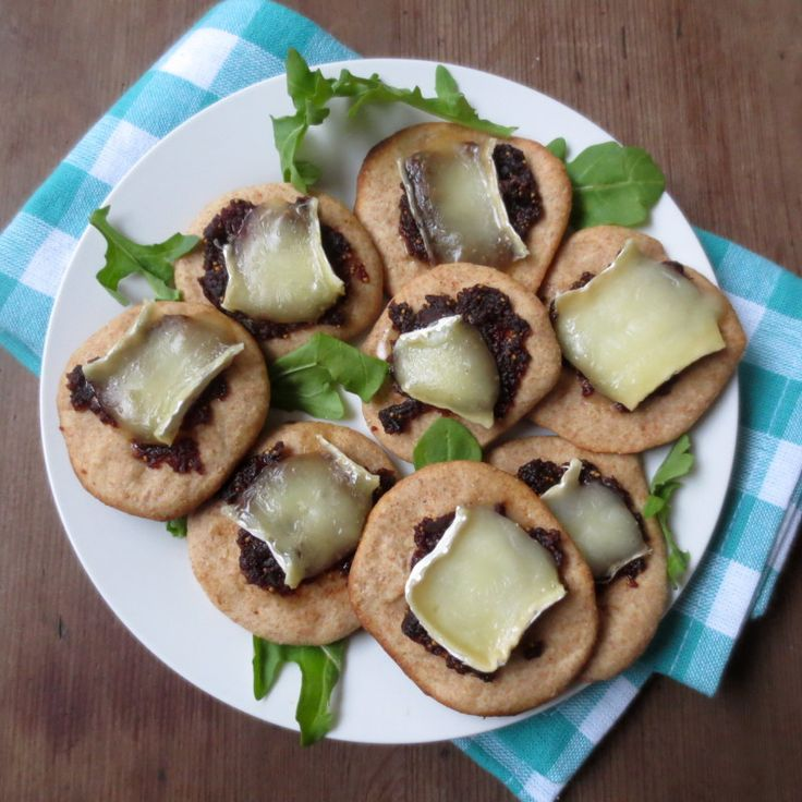 Super Bowl Snack time!! Dried Fig & Brie Bites! SO good. | Frugal Nutrition