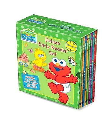 SesameStreet Beginnings Deluxe Early Reader Set 8 Books Christmas Gift FREE POST