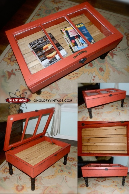 I want to be able to do this...Repurposed Window Table...