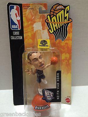 (TAS008182) - Mattel Basketball NBA Jams Figure - Keith Van Horn #44 NJ Nets