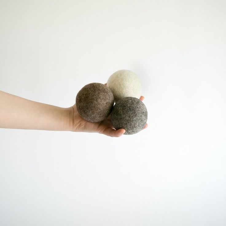 Wool Dryer Balls Made Collective