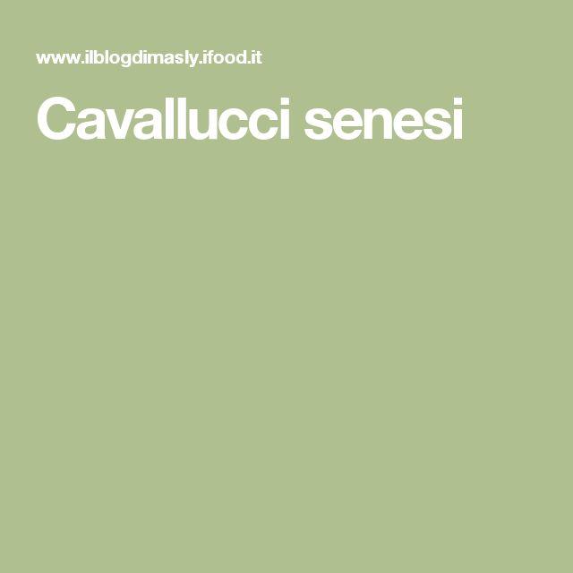 Cavallucci senesi