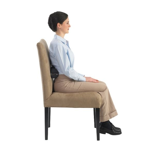 The Original McKenzie Lumbar Roll Back Support in Quebec, Canada #backs2beds #officecushions #homeproduct #officeproducts #chair #lumbarcushion