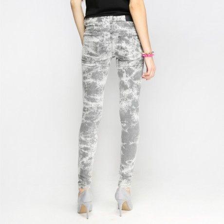 88 Army Batik Printed Skinny Jeans