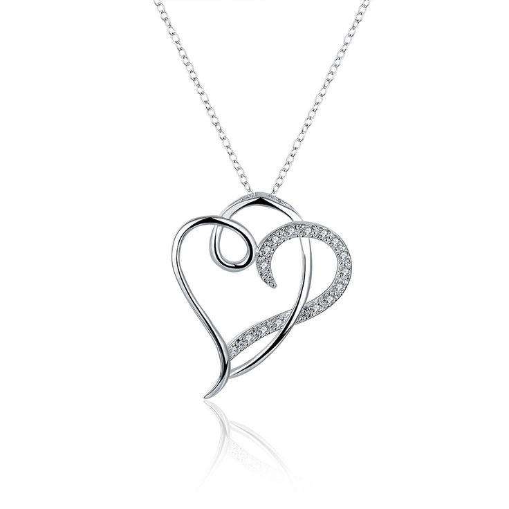 Купить Горячие Продаем Новая Мода Инкрустированные Каменное Сердце Кулон…