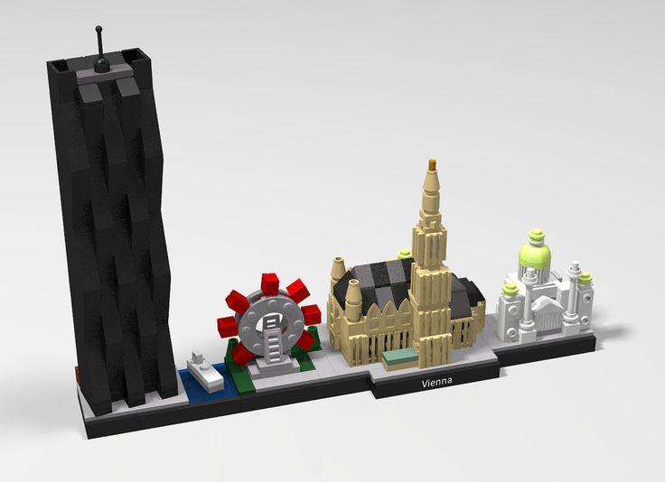 65 best LEGO Architecture - Skylines images on Pinterest   Lego ...