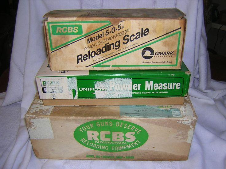 Lot of RCBS Reloading Equipment Junior Press Scales Powder Measure Dies Manuels #RCBS