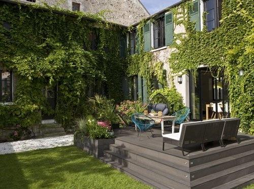Aimeriez vous avoir une maison avec jardin elle décoration