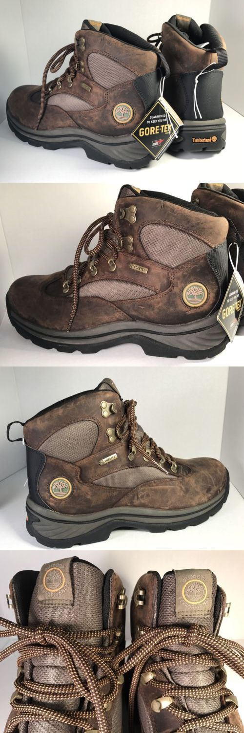 Mens 181392: New Timberland Men S Chocorua Trail Mid Gore-Tex Hiking Boots 15130 Size: 11.5 -> BUY IT NOW ONLY: $79 on eBay!