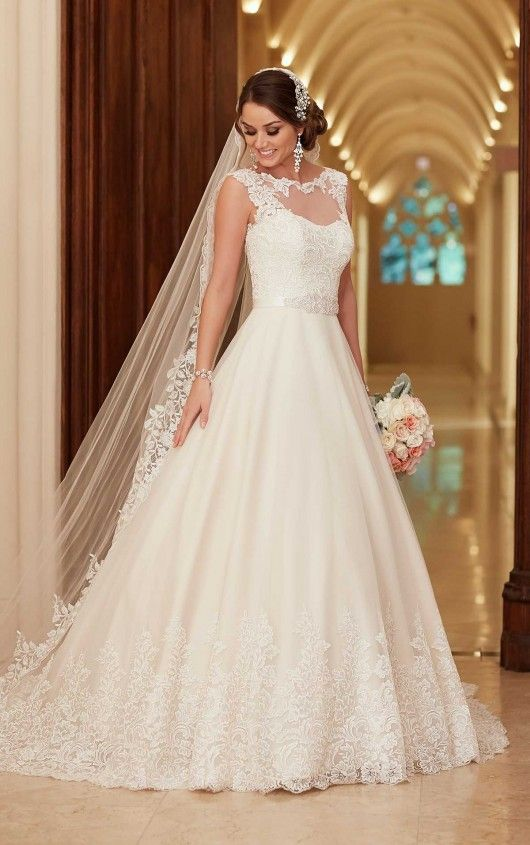 39 best Stella York images on Pinterest | Wedding dressses ...