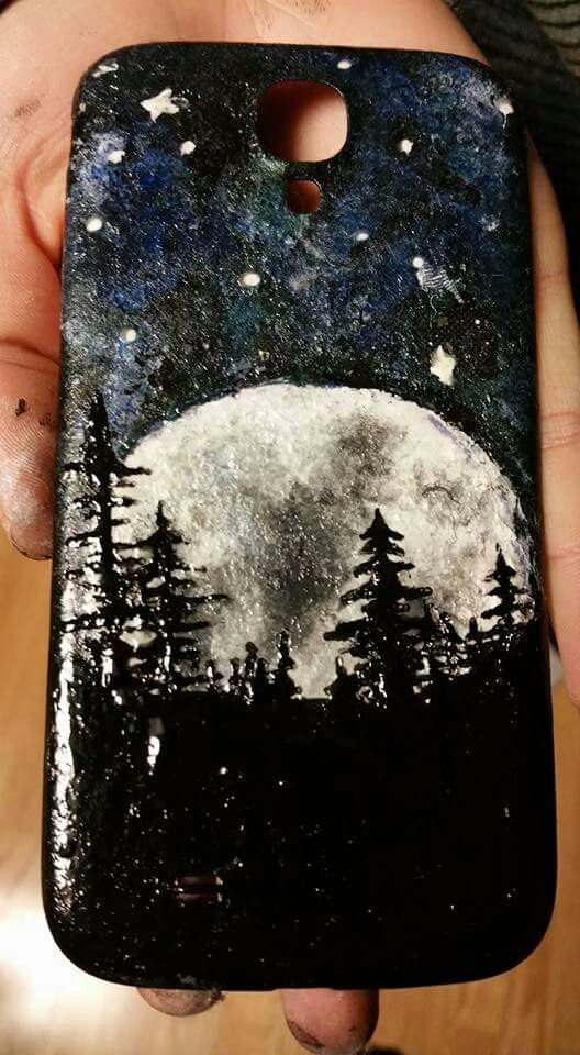 A Friend Daughter Painted This Phone Case With Nail Polish What An Awesome Idea Get Creative