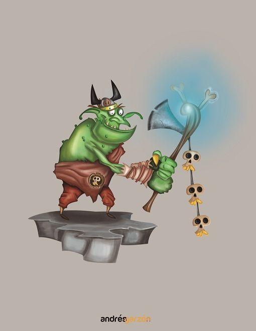 Ogro guerrero