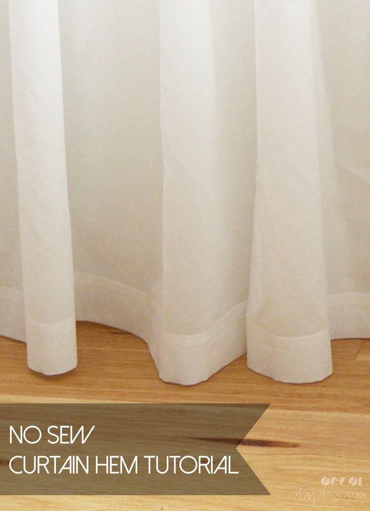 Perfectly Hemmed Curtains Using Ikea S Hemming Tape