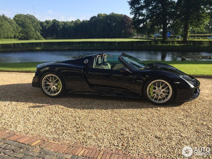 porsche 918 spyder black. porsche 918 spyder weissach package black