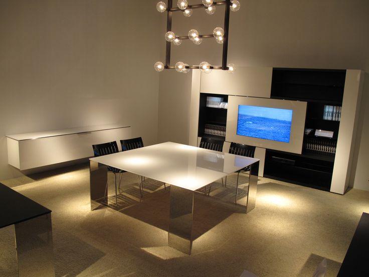 tavolo axis quadrato design gabriele e oscar buratti by