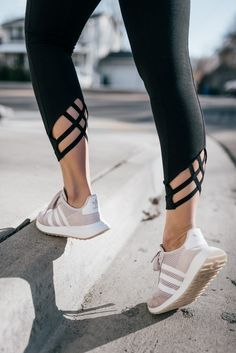 Wild One Forever - Adidas Flashback Sneakers and Lysse Vita Crop Leggings