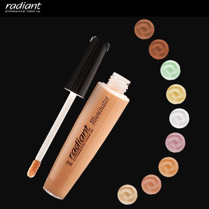 Κανείς δε θα καταλάβει το βραδινό σας διασκεδαστικό ξενύχτι αφού τα «ίχνη» θα καλυφθούν με το κατάλληλο #illuminator! #Radiant #Professional #Makeup #Tips #Eyes #Concealer