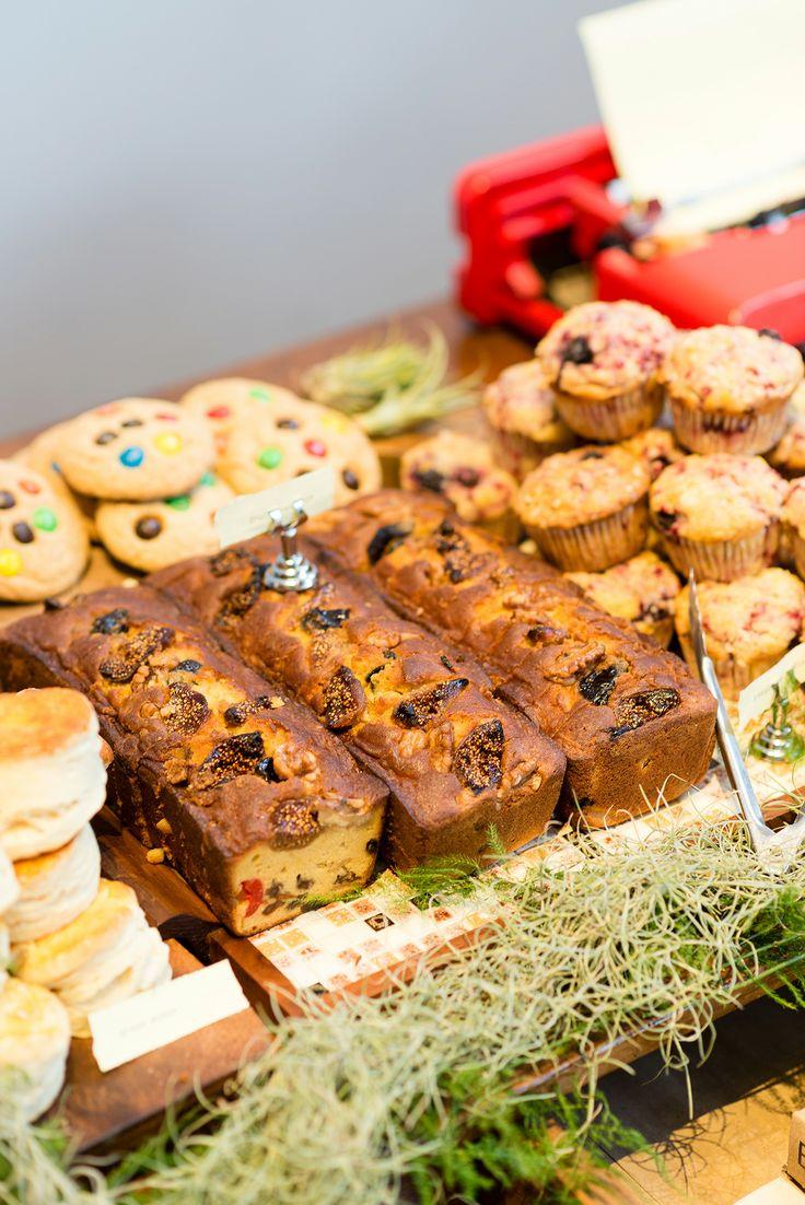 カップケーキ、スコーン、フルーツケーキ、mm'sクッキー