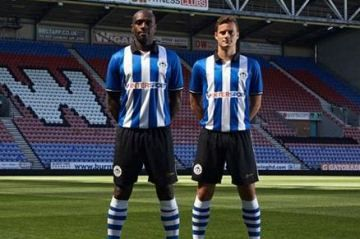 Wigan Athletic 2014/15 MiFit Home Kit