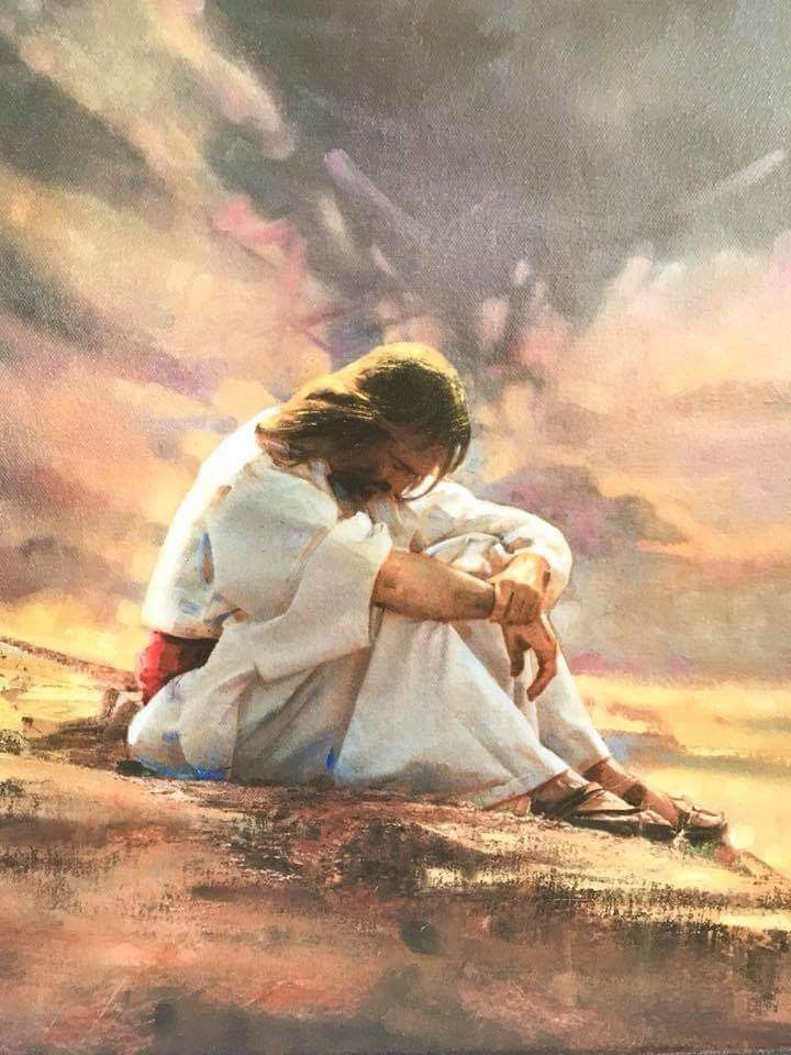 In the Wilderness by Ron DiCianni   Jesus christ art, Pictures of jesus  christ, Jesus pictures