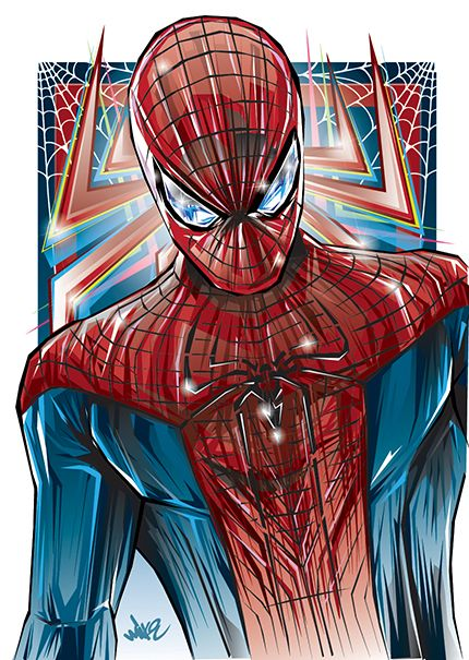 Spiderman Series on Behance