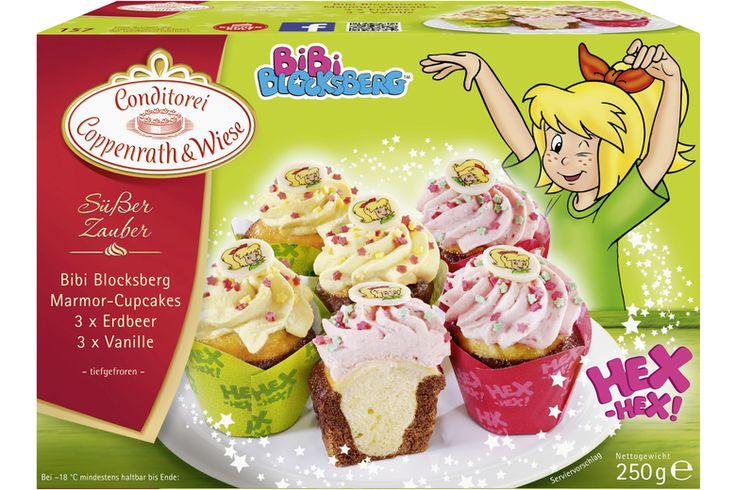 Coppenrath & Wiese Bibi Blocksberg Marmor-Cupcakes (Süßer Zauber)