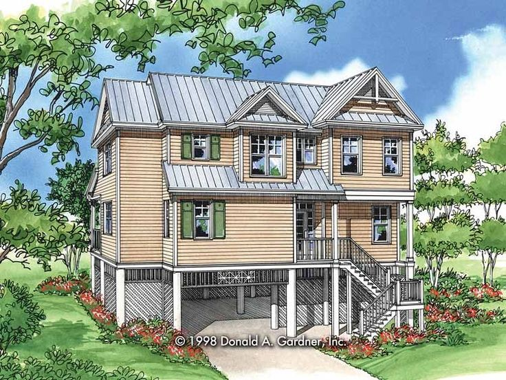 Eplans Craftsman House Plan Got A Costal Location