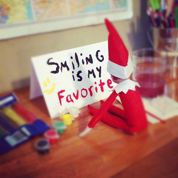 Elf Quotes Smiling: Pin By Lisa Hankins Tekautz On ELF On A Shelf Ideas