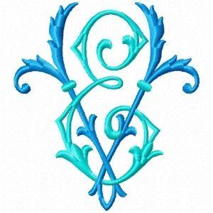 Free Machine Embroidery Design mon-EV