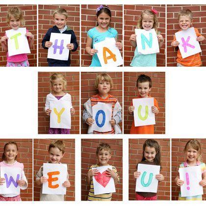 Picture Thanks #teacherappreciation