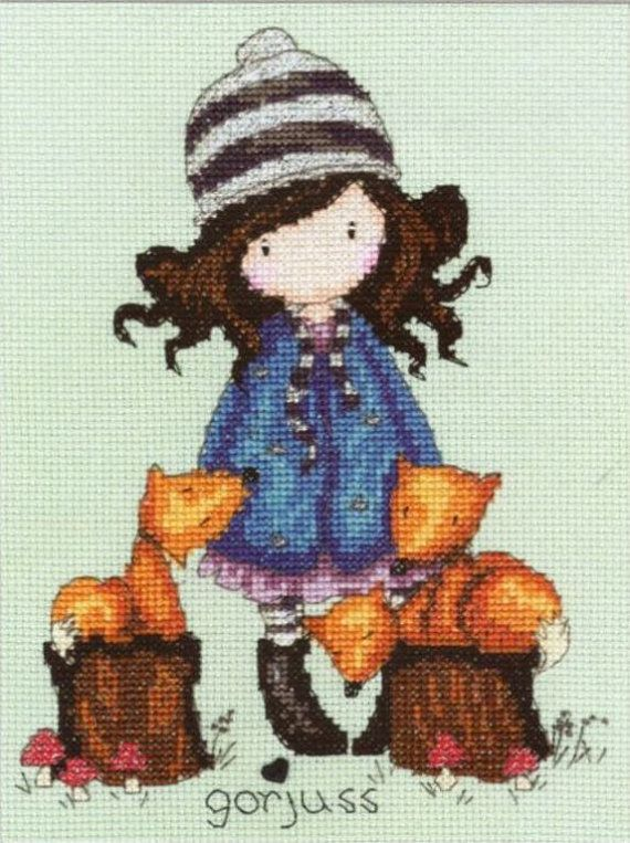 Cross stitch pattern Gorjuss Instant download by NeniDesign, $3.50