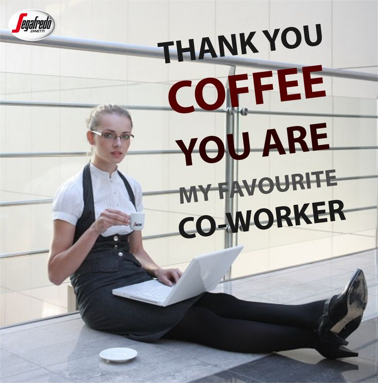 Jeśli w pracowitym dniu będziecie potrzebowali pomocy, pamiętajcie do kogo zgłosić się w pierwszej kolejności ;) #Segafredo #PorannaKawa #KawoweCytaty #PobudzającaKawa