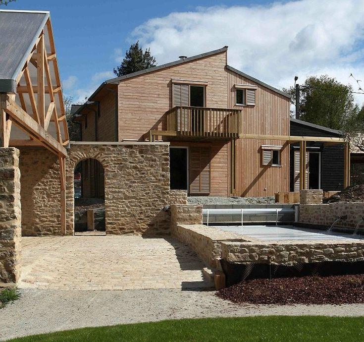 Elegant A Bioclimatic House By A.typique Patrice Bideau U2013 Auray