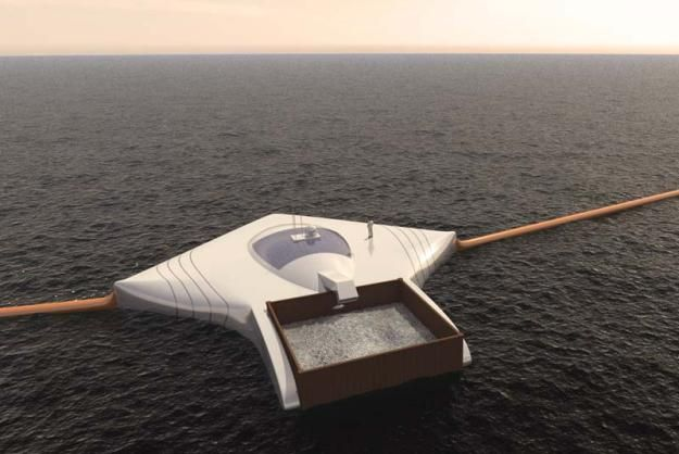 Boyan Slat is an engineering student who is designing a concept for floating booms that would sift...