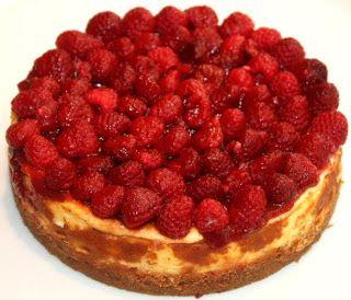 cheesecake; frambozen; recept van holtkamp