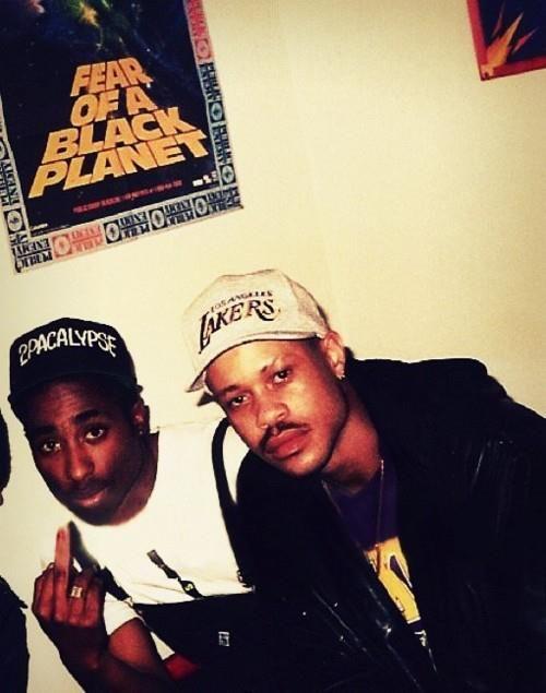 tupac & guru.