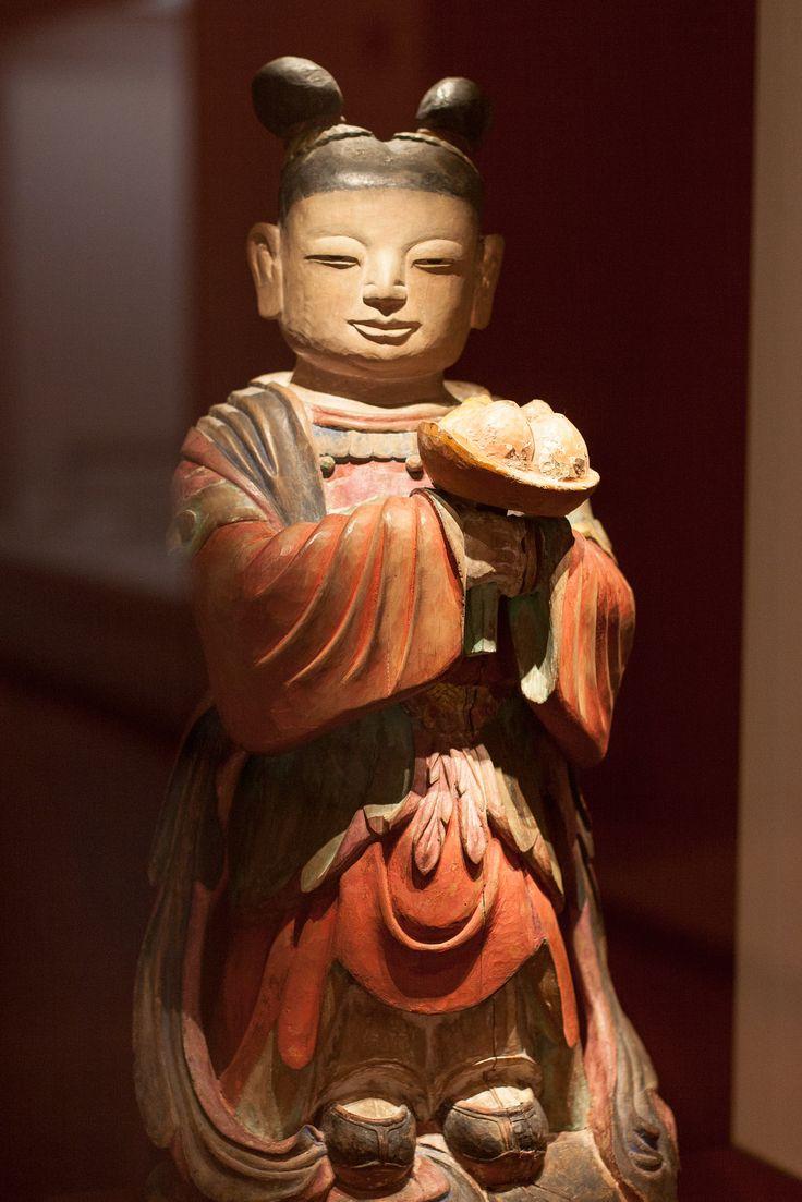 https://flic.kr/p/KEoqWy | 동자상 : Buddhist Boy Attendant | 조선 18세기에 만들어진 동자상.