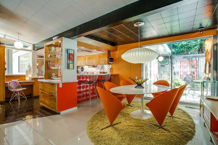 Mid-Century Modern Interior Decor Ideas | www.essentialhome.eu/blog | #midcentury #homedecor #furniture