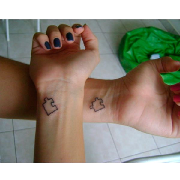 48 inspirações criativas de tatuagem para casal