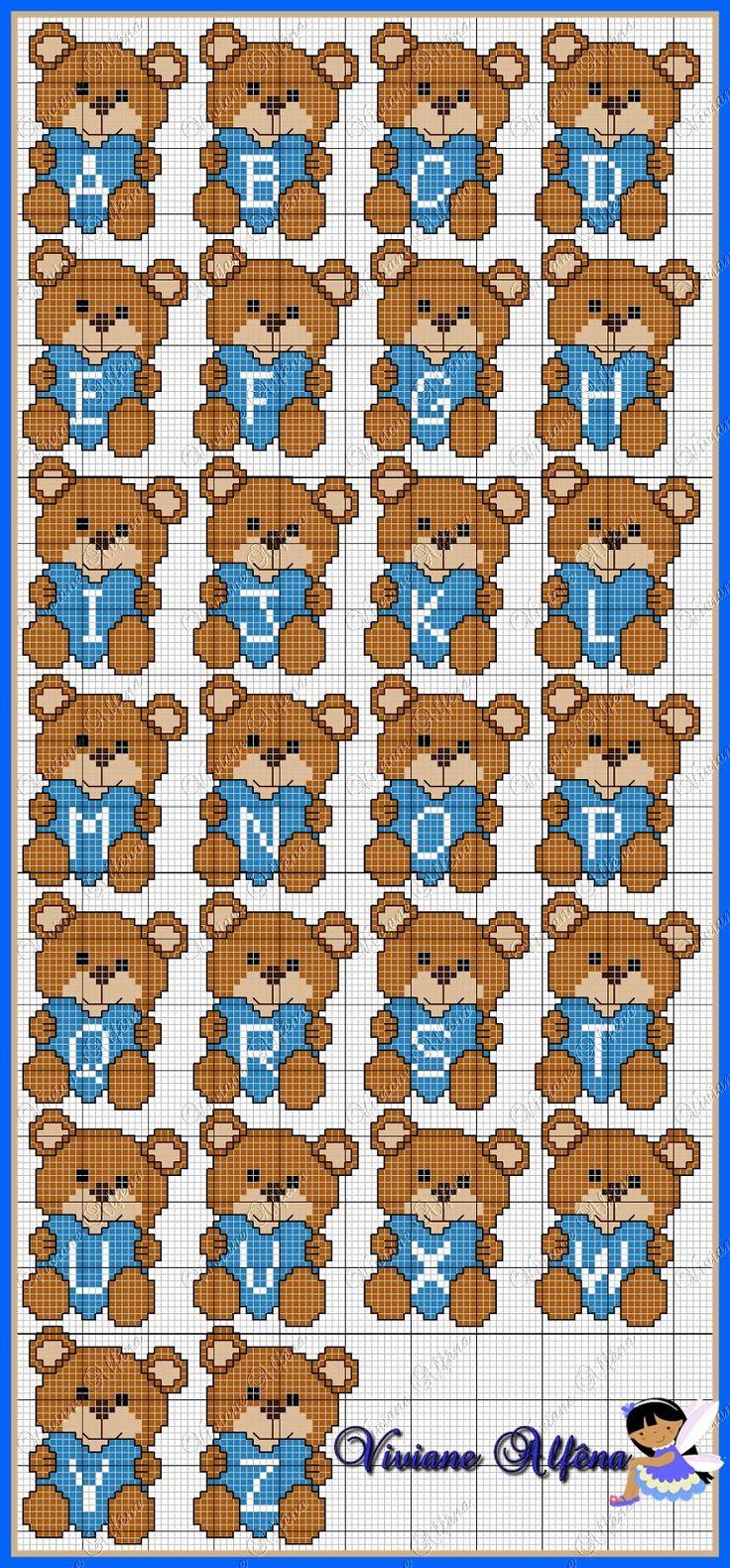 Viviane Alfêna: Mono Ursinhos Amorosos