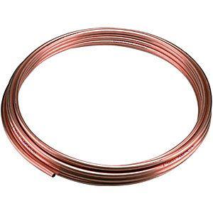 Wickes Microbore Copper Tube 10mmx10m