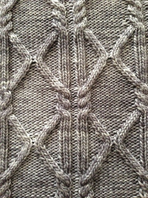 Ravelry: Project Gallery for October Aran Afghan Square (Woolen Collectibles) pattern by Marin Melchior