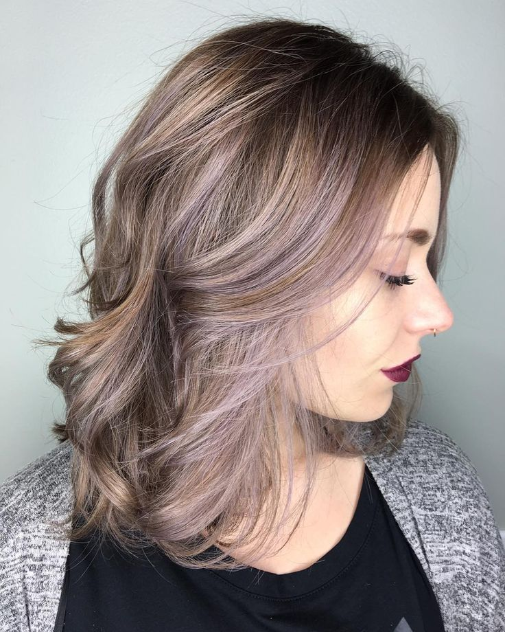 Swell 25 Best Ideas About Lavender Highlights On Pinterest Lilac Hairstyles For Men Maxibearus